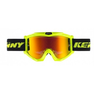 KENNY LUNETTES TRACK JAUNE FLUO  ADULTE