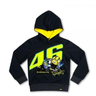 SWEAT KID VR 46 BLUE T-10/11